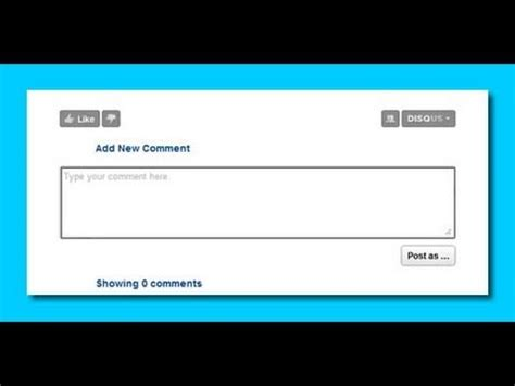 comment section html comment box for your website dreamweaver cs4 youtube