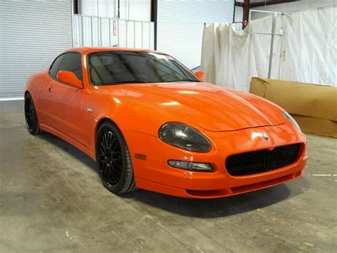 2006 Maserati Coupe by 2006 Maserati Coupe For Sale Mo Springfield Salvage
