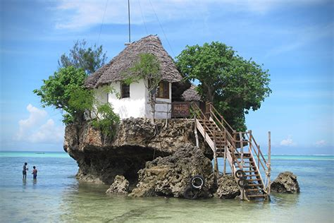 unique towns in the us the rock restaurant in zanzibar hiconsumption