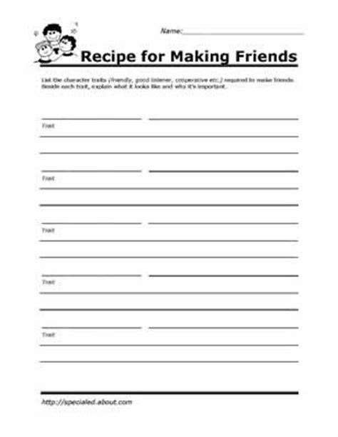 social skills free worksheets peer relationships social skills lessons and worksheets