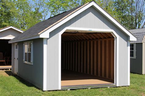 12x24 Sheds by Pine Creek 12x24 Cape Cod Garage Barn Barns Shed Sheds In