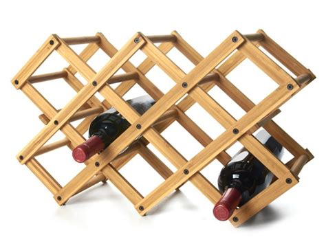 bamboo 10 bottle wine rack wine woot