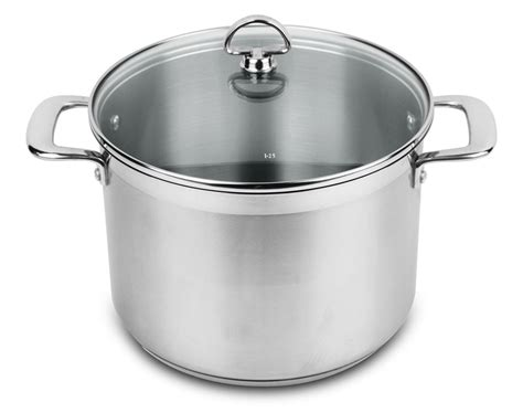 large induction stock pot chantal induction 21 steel stock pot 8 quart cutlery and more