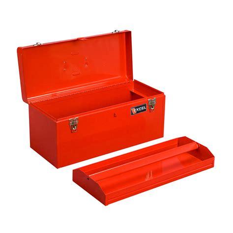 20 inch metal box excel 20 inch portable steel tool box