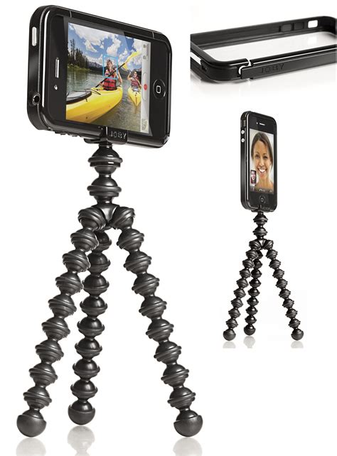 iphone tripod joby brings its tripod to the iphone 4 cnet