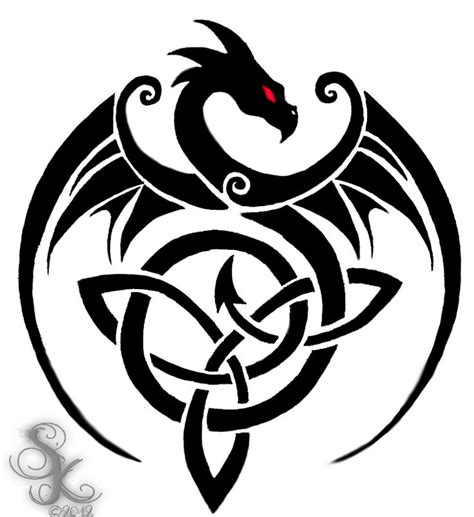 tribal trinity tattoo the celtic knot artsy celtic