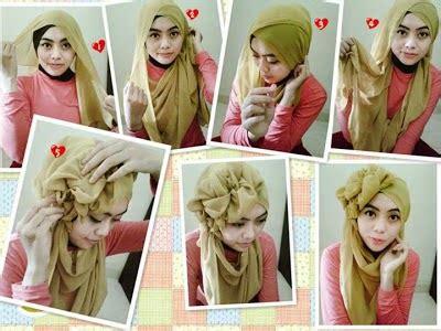video tutorial hijab kondangan cara memakai jilbab pesta simple arini gita prameswari