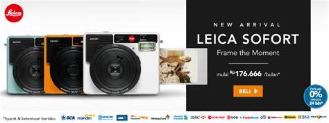 Kamera Leica Sofort jual kamera terbaru harga spesifikasi terbaik blibli