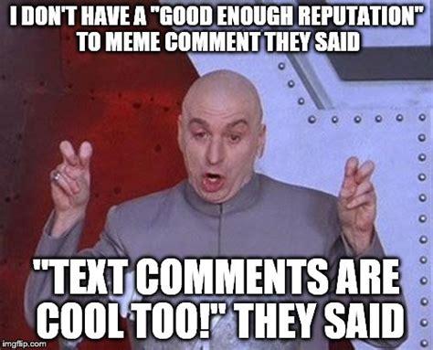 Meme Photo Comments - dr evil laser meme imgflip