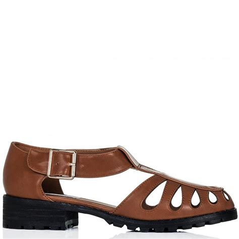 flat buckle sandals buy coast flat buckle sandal shoes leather style