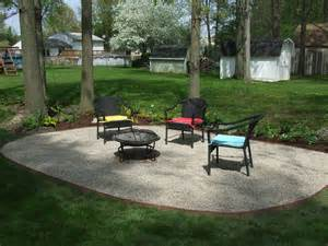 crushed gravel patio mind flush i me a big project now and then