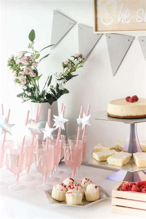 pink bridal shower decor ideas 2 beautiful bridal shower decorations with cricut create celebrate