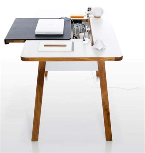 a minimalist desk that hides all your cords design milk 42 gorgeous desk designs for any office home decoz