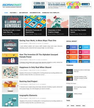 sora templates for blogger blogger templates 2018 top best free new templates