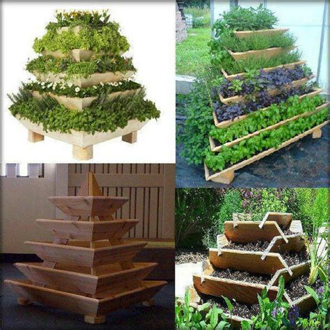 How To Build A Herb Garden Planter Box by How To Make A Tiered Planter Box
