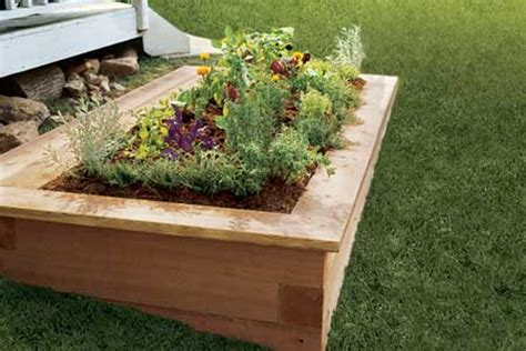 How To Make A Raised Planter by The Basics Of Building Raised Bed Planters Apartment Therapy