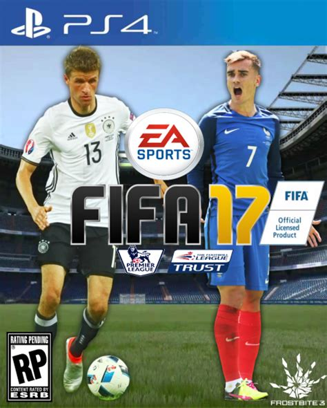 Ps4 Fifa 17 Reg 3asiaeng fifa 17 playstation 4 box cover by alex gozdecki
