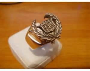 Cadillac Ring Sterling Silver Cadillac Ring By Wearemongoloid On Etsy