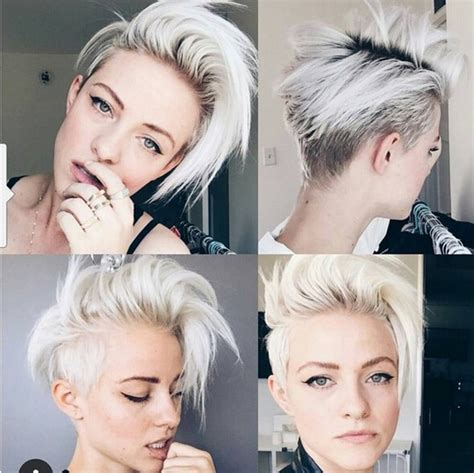 2016 trendy mohawk hairstyles for short haircuts 22 trendy short haircut ideas for 2018 straight curly