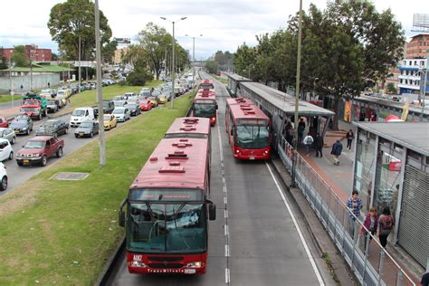 Bogotá's Transmilenio Bus Rapid Transit Eyed By American ...
