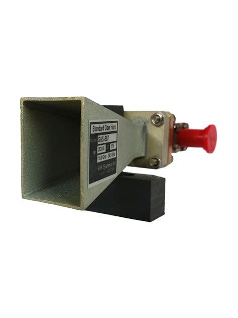 sas 587 standard gain horn antenna