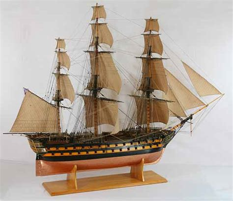 englisch stern boat tall ship model of hms melville a 74 gun ship of the line