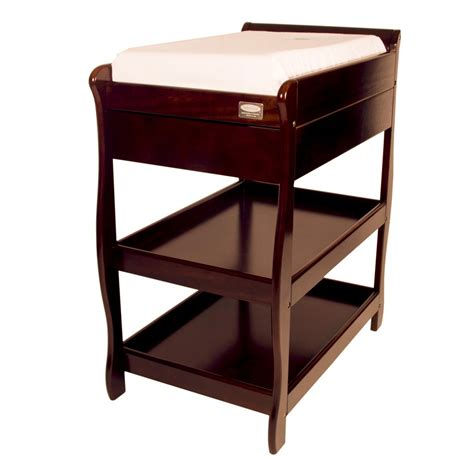 Sleigh Change Table Babyhood Sandton Sleigh Change Table Walnut Babyhi5