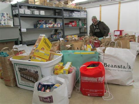 Highland Park Food Pantry by Downtown Highland Park Food Drive Collects Unprecedented