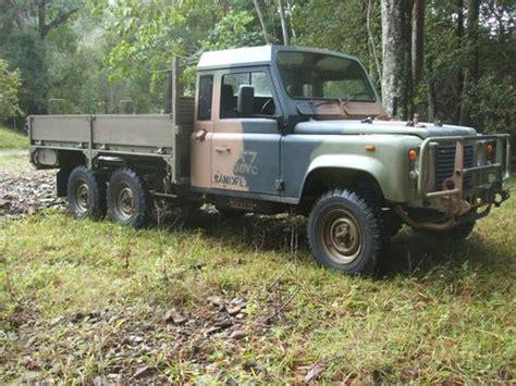 buy used landrover 110 6x6 turbo diesel trayback in
