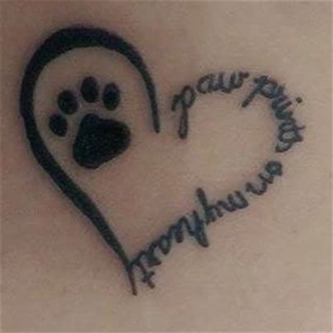 pet memorial tattoos looking for a paw print tattoos beautiful