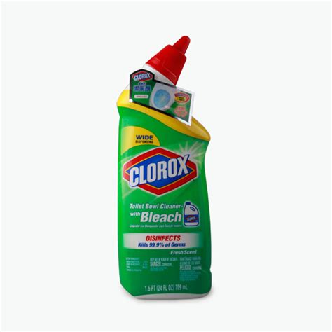 Clorox Bathroom Cleaner With by Clorox Toilet Bowl Cleaner With 709ml