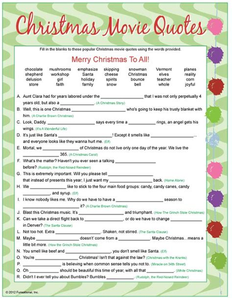 printable christmas movie quotes quiz best 25 christmas movie trivia ideas on pinterest