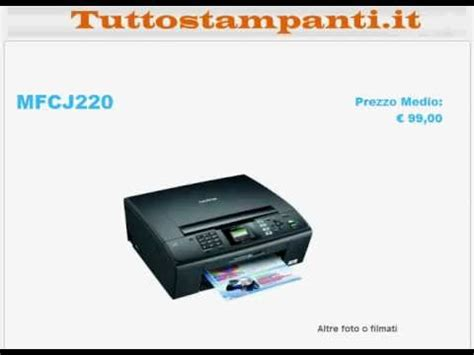 reset ink level brother mfc j220 brother mfc j220 all in one printer scanner copier fax doovi
