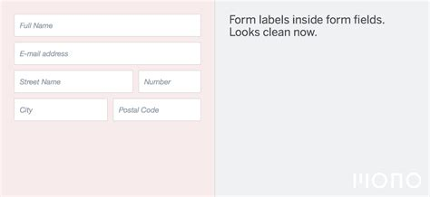 design application form using html the 10 commandments of good form design on the web mono