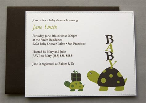 Turtle Baby Shower Invitations by Turtle Baby Shower Invitations Dolanpedia Invitations Ideas