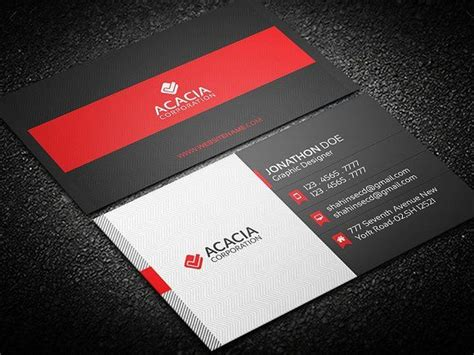 3 5x2 business card template psd best 25 modern business cards ideas on free