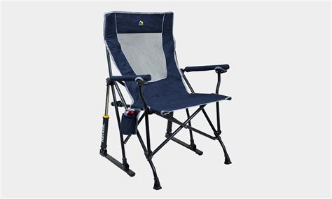 gci rocking camp chair cool material