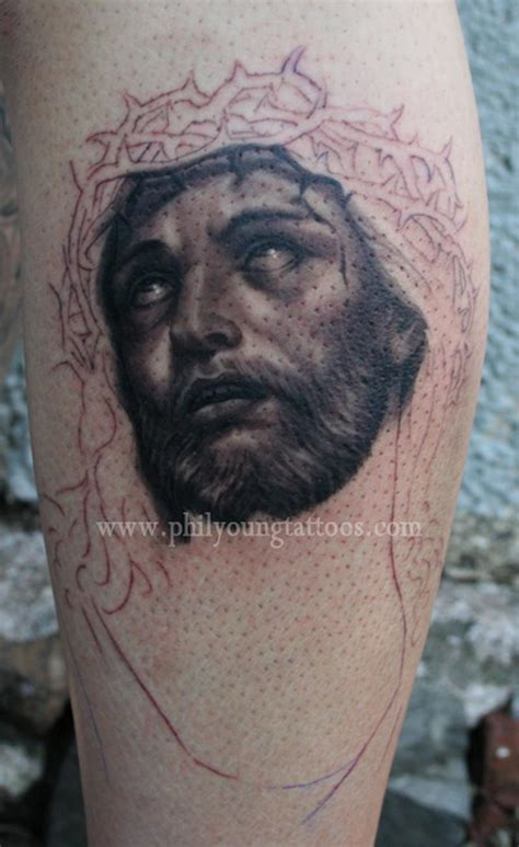 phil young hope gallery tattoos religious jesus