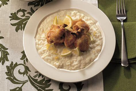 cucinare alette di pollo risotto al limone e alette di pollo la cucina italiana