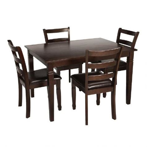 gathering table and chairs dining set 5