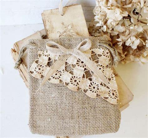 A1631 Brown ispirazioni per sacchetti porta confetti shabby chic il