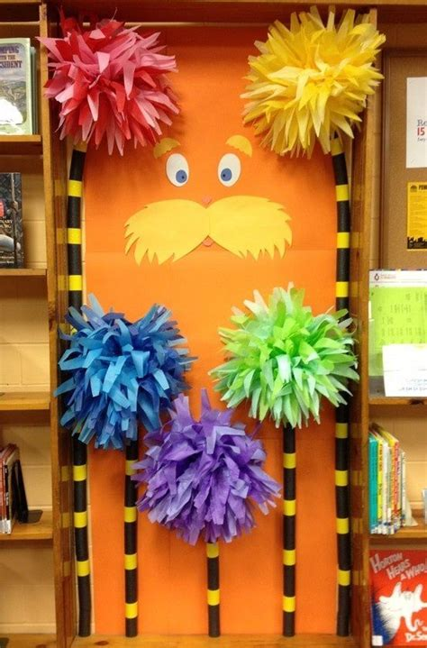 How To Make Lorax Trees Out Of Tissue Paper - 1000 ideas about truffula trees on the lorax