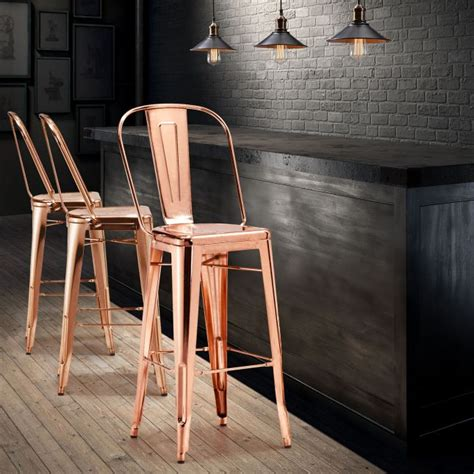 Ideas For Copper Bar Stools Design Unique Bar Stools That Will The Show