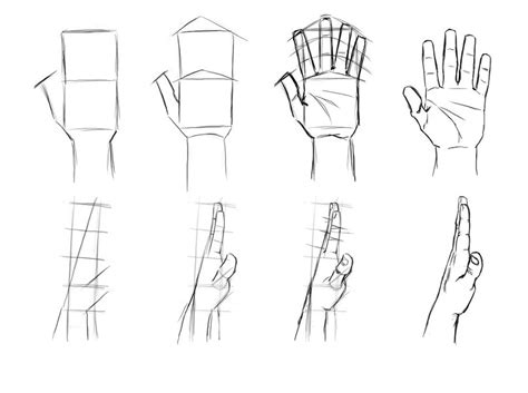 how to draw hands 35 tutorials how tos step by steps tips and tricks hands by khallandra on deviantart