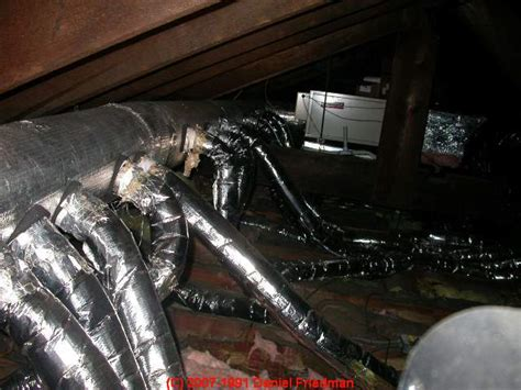 ducted whole house fan hvac trunk duct images frompo 1