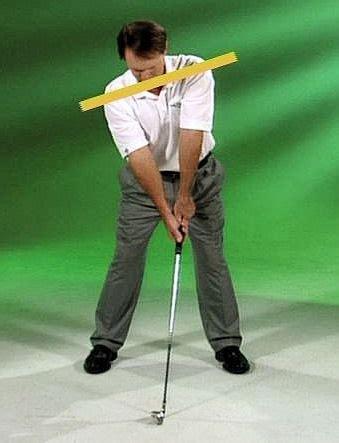 shoulder plane golf swing single plane setup fundamentals kenmartingolf