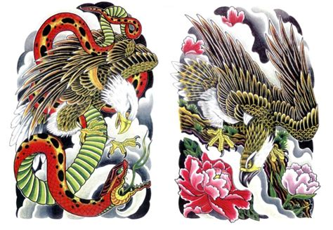japanese eagles tattoo designs 171 171 japanese tattoo designs