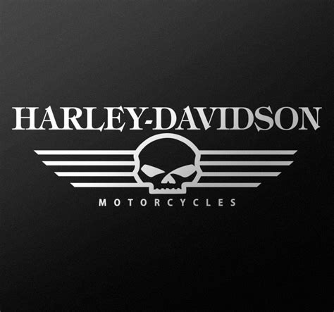 Wall Sticker Harley Davidson 02 harley davidson motorcycle sticker tenstickers
