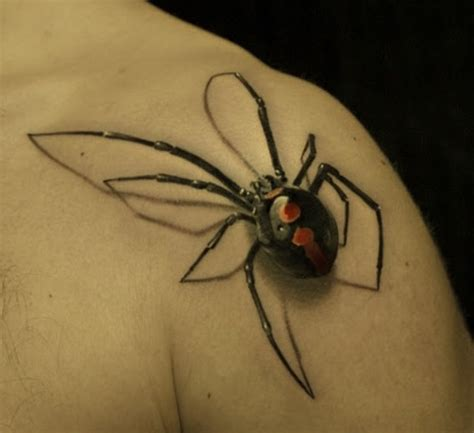 tattoo 3d spider 3d spider tattoo