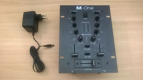 marche console dj m one keywood m one audiofanzine